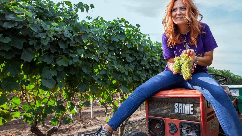 """Marika racconta la Vendemmia2020 per """"Donne del vino"""""""