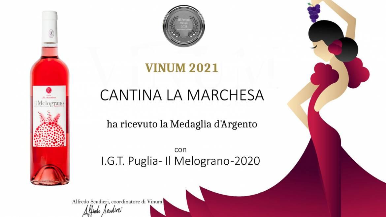 Cantina La Marchesa protagonista al Vinum 2021